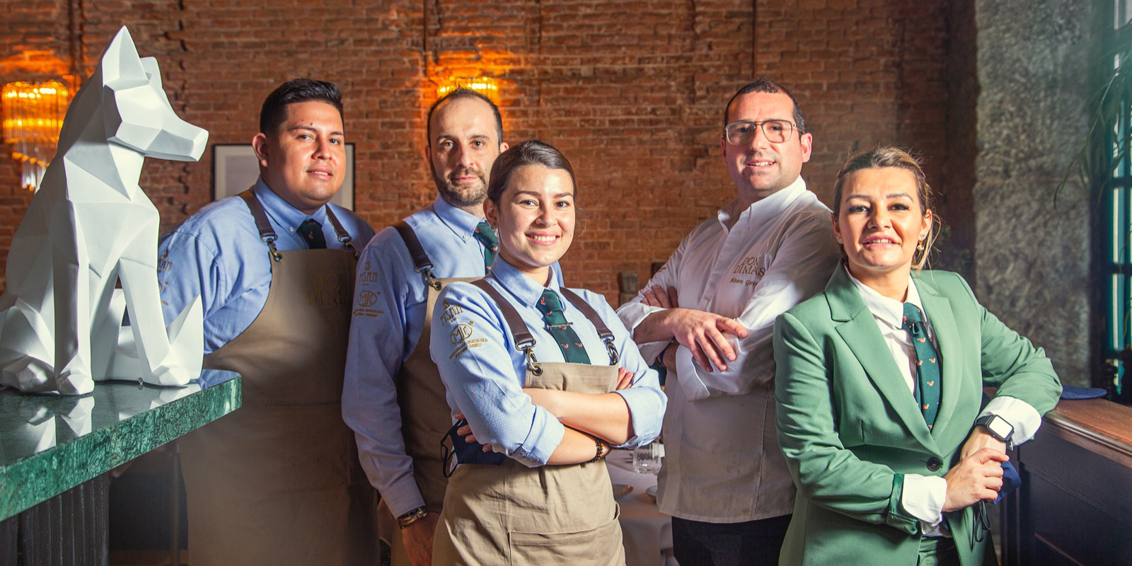 Equipo Restaurante Don Dimas Madrid